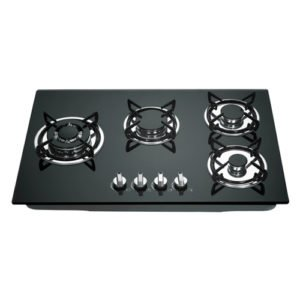 hob four burner worktop thickness