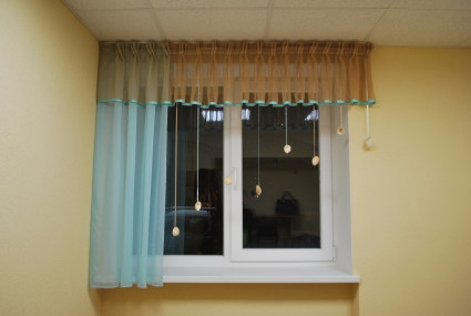Curtains for day-care and schools