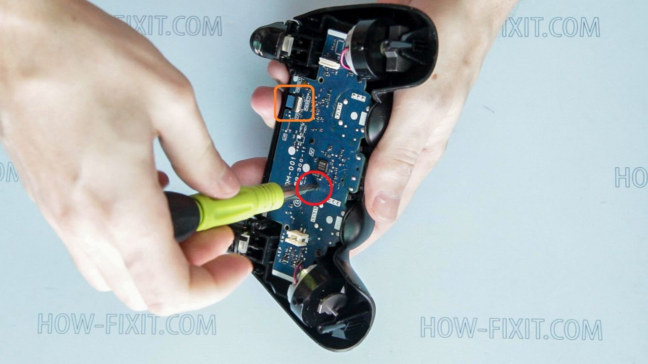 ps4 dualshock 4 repair step 7